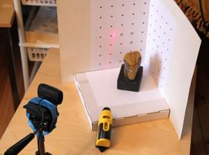 3D skanning med David programvare