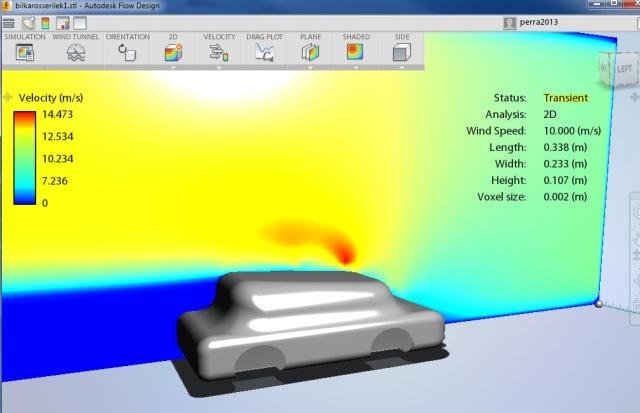 Bilform inn i Autodesk Flow Design 1