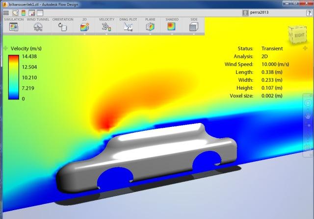 Bilform inn i Autodesk Flow Design 2